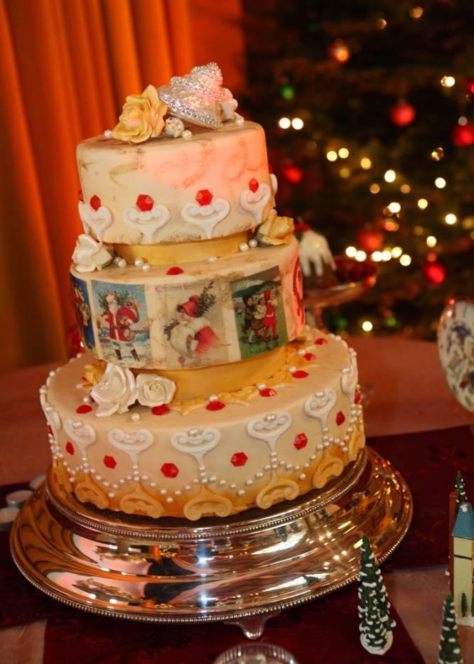 dazzlemdessertsweddingcake dazzleM desserts Wedding Cake