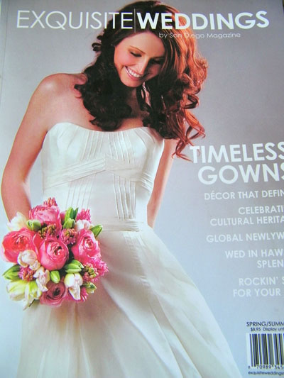 Exquisite Weddings, San Diego Magazine