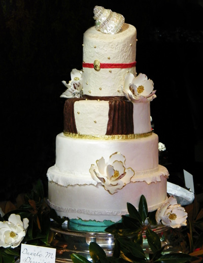the special event 2009 in san diego dazzlem desserts wedding cake. Black Bedroom Furniture Sets. Home Design Ideas